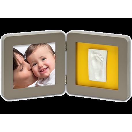 Рамочка двойная (серая) Baby Art