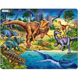 """Пазл """"Динозавры 2 """" Larsen (Норвегия) NB3"""