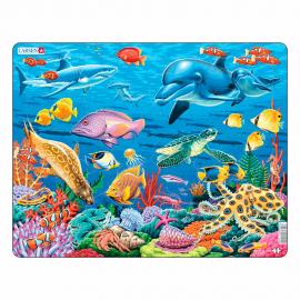 """Пазл """"Коралловый риф"""" 35 дет Larsen (Норвегия) FH29"""